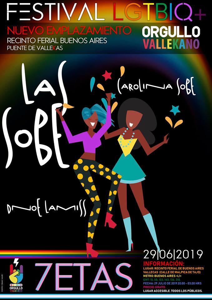 Dnoe Lamiss Y Carolina Sobe Orgullo Vallekano 2019