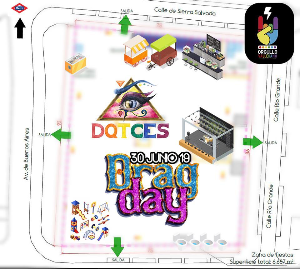 Drag Day Orgullo Vallekano 2019