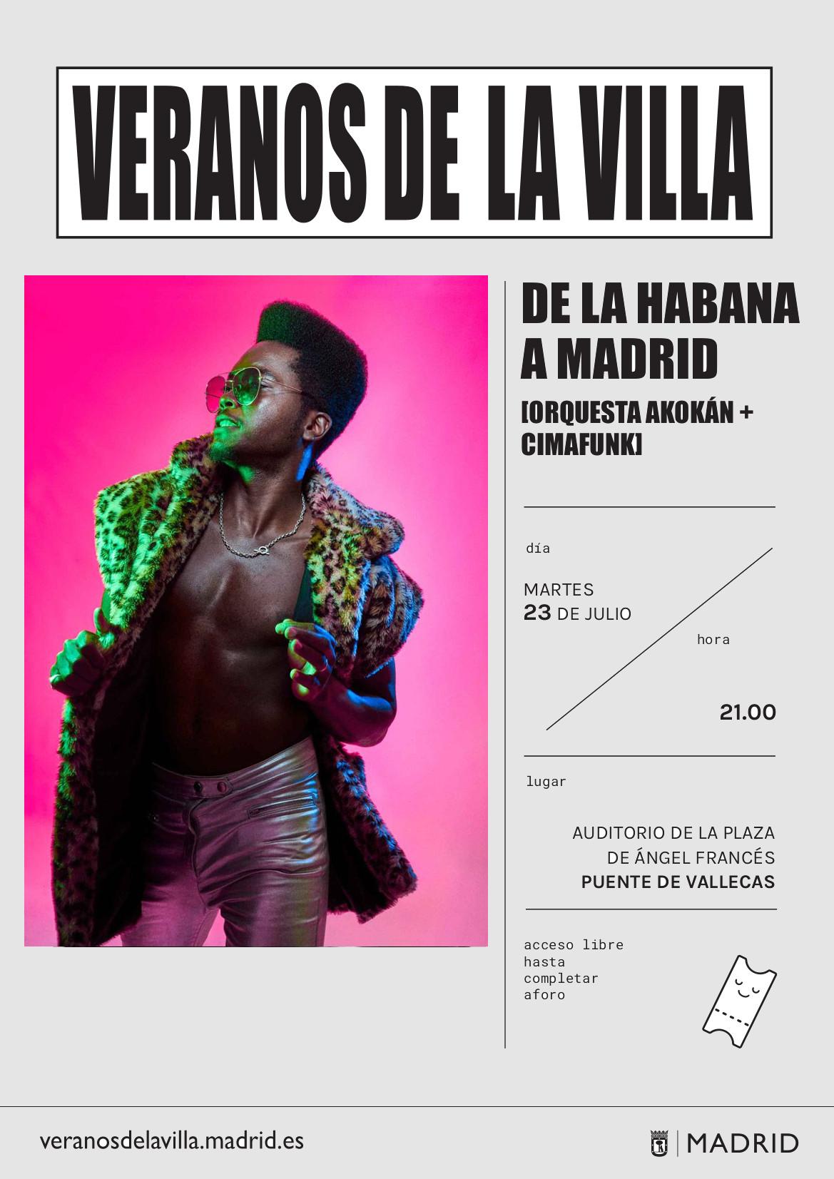 Veranos de la Villa Vallecas 2019