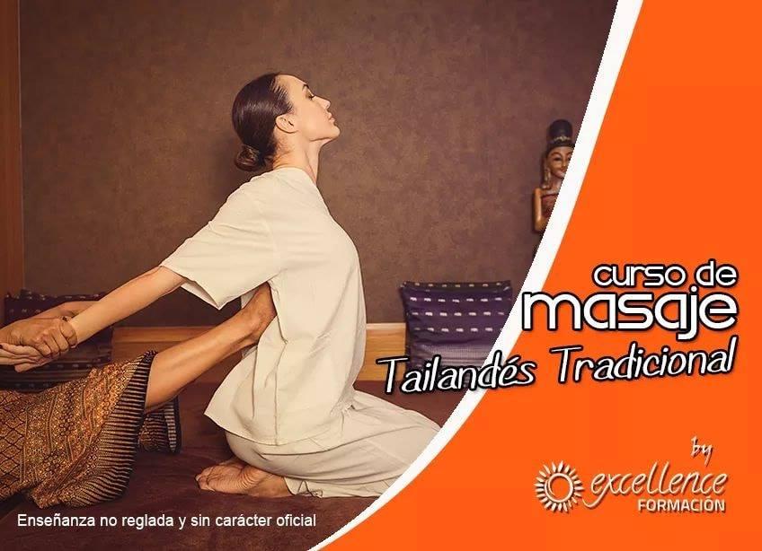 Curso Masaje Thailandés Excellence Formacion Vallecas