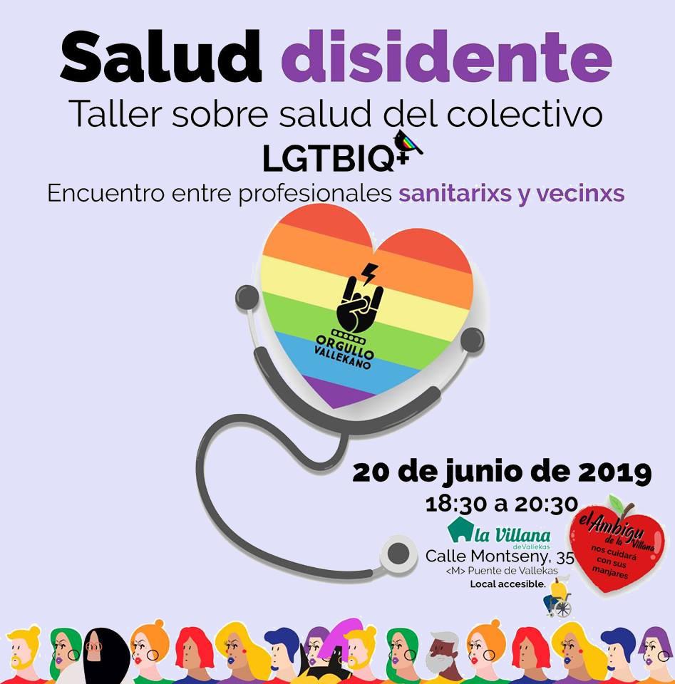 Salud disidente Orgullo Vallekano 2019