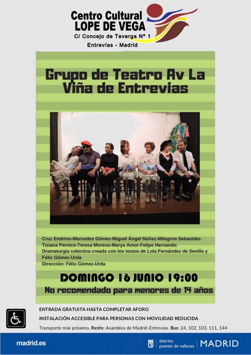 Teatro La Viña-Entrevías Vallecas