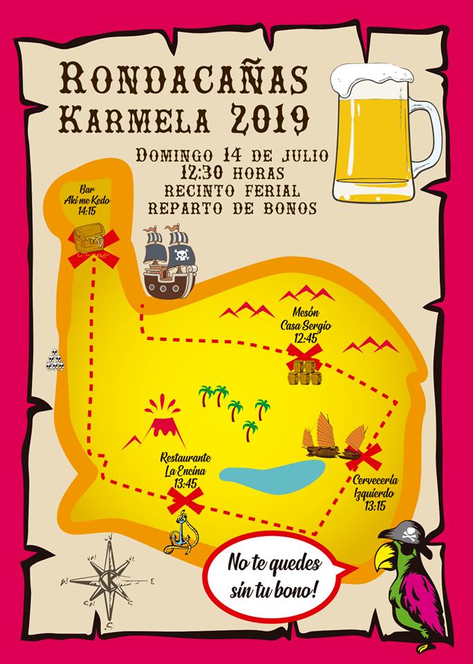 Rondacañas La KArmela 2019 Vallecas