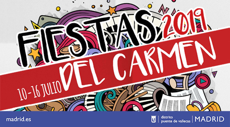 Fiestas Carmen Vallecas 2019