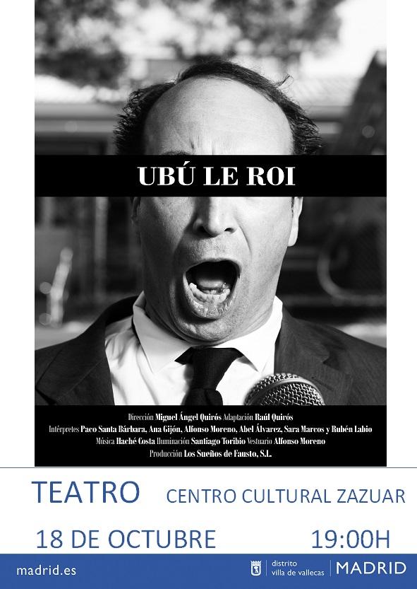 ubú le roi teatro Vallecas