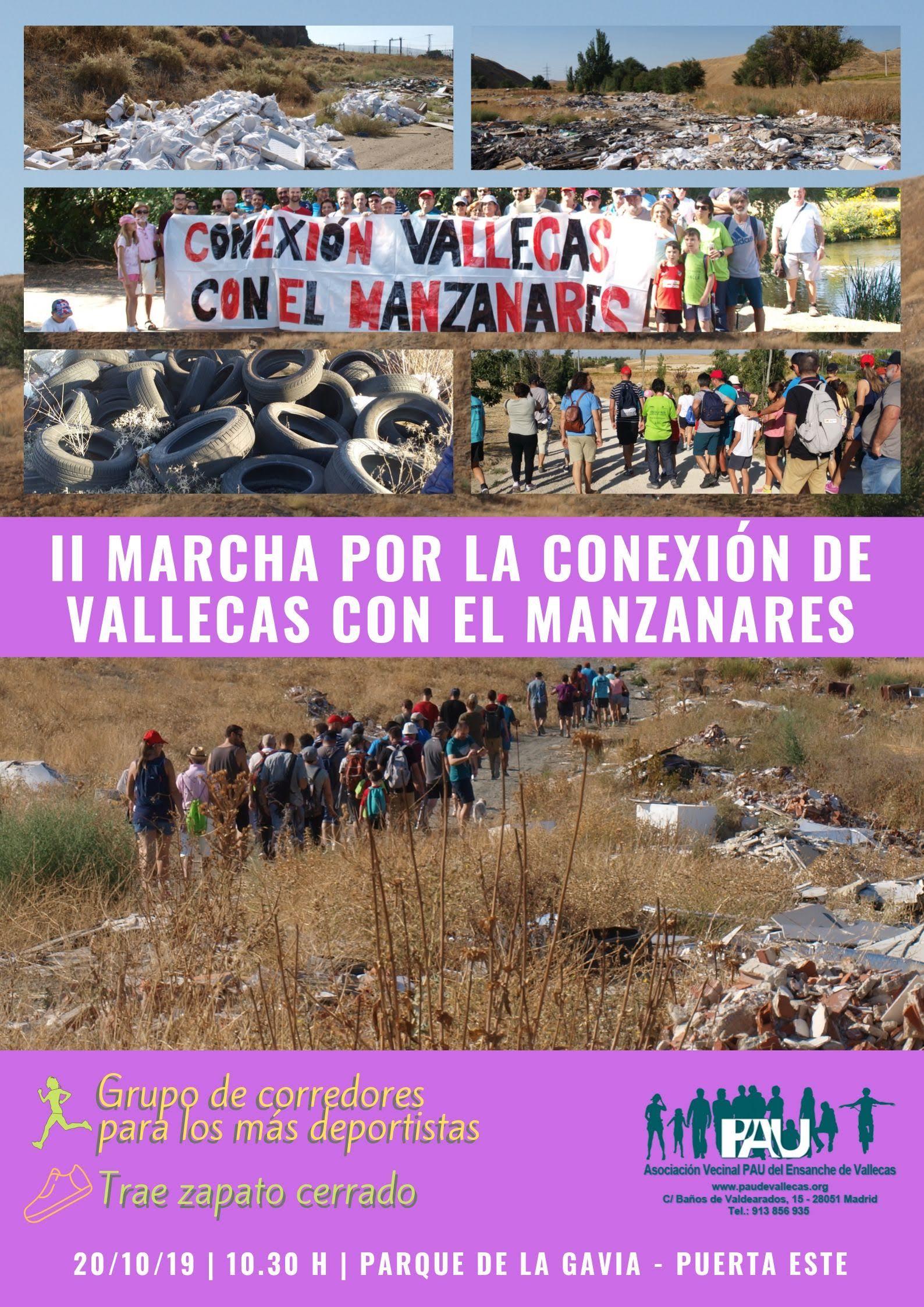 Cartel II Marcha Camino Magdalena