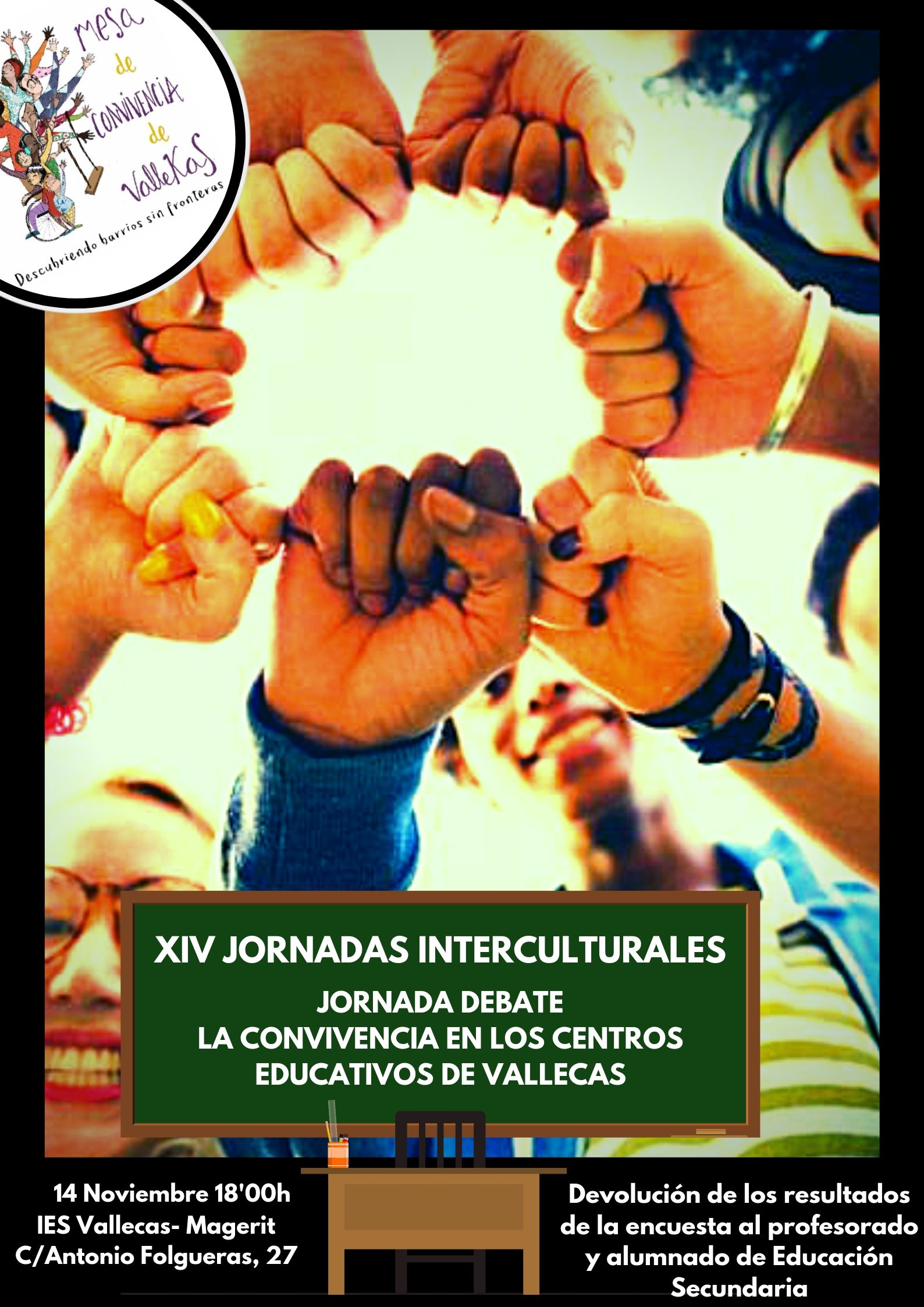 Jornadas interculturales_educaciónVallecas