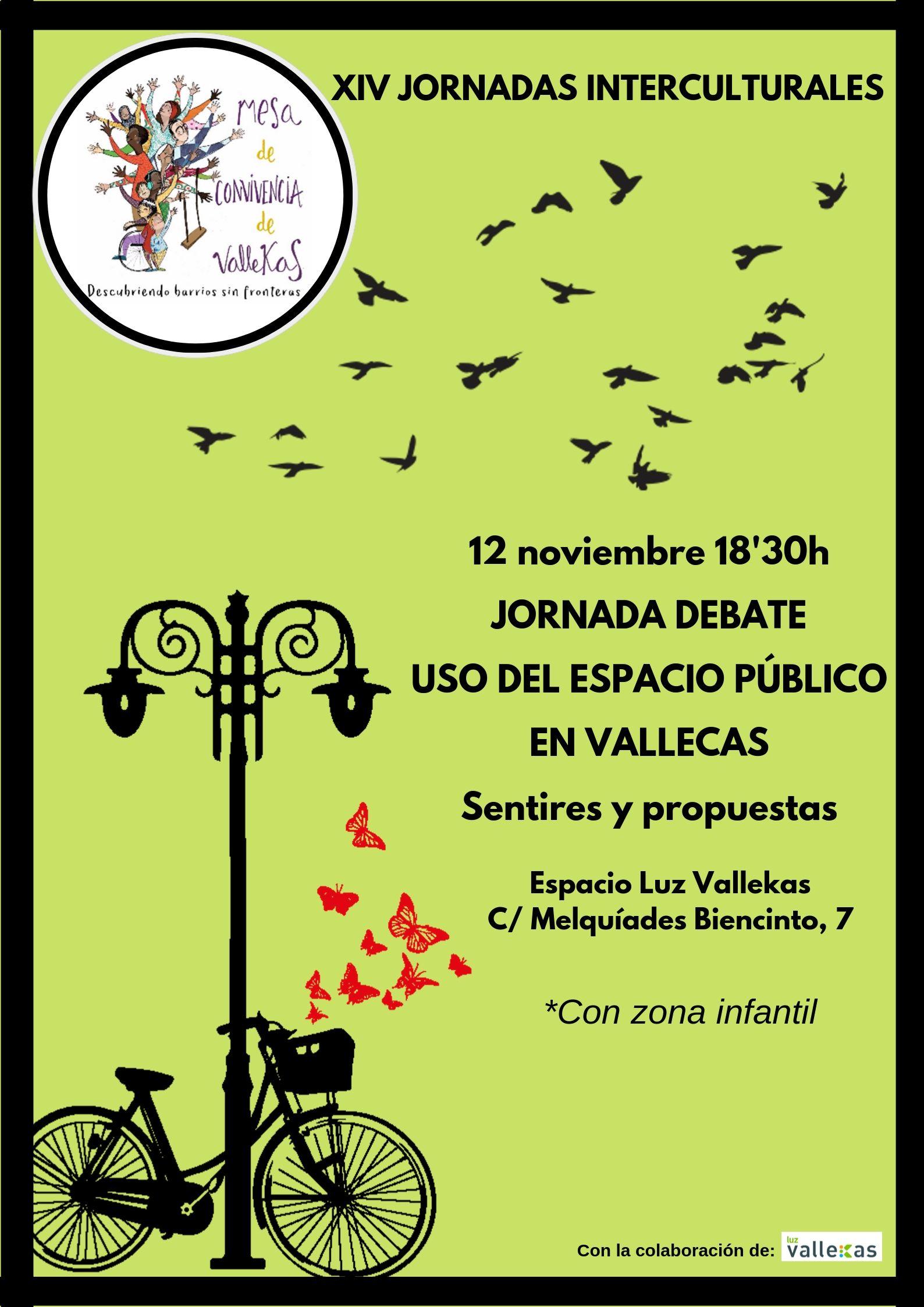 Jornadas interculturales_espacios públicos Vallecas