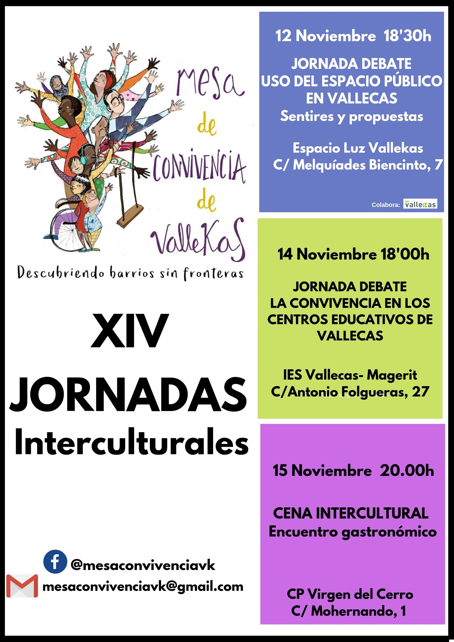 Jornadas interculturales Vallecas