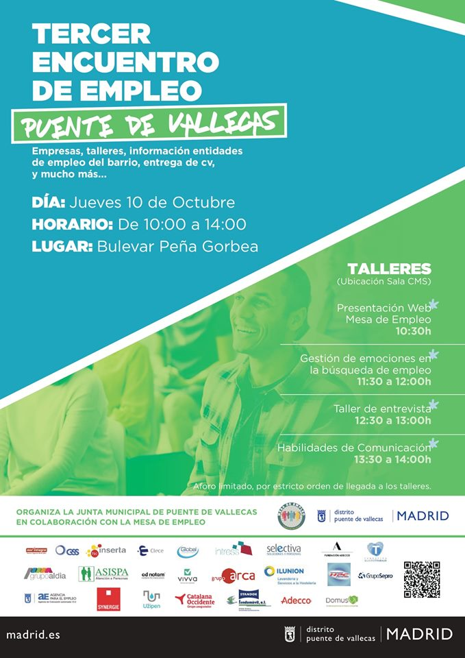 Mesa Empleo 2019 Vallecas