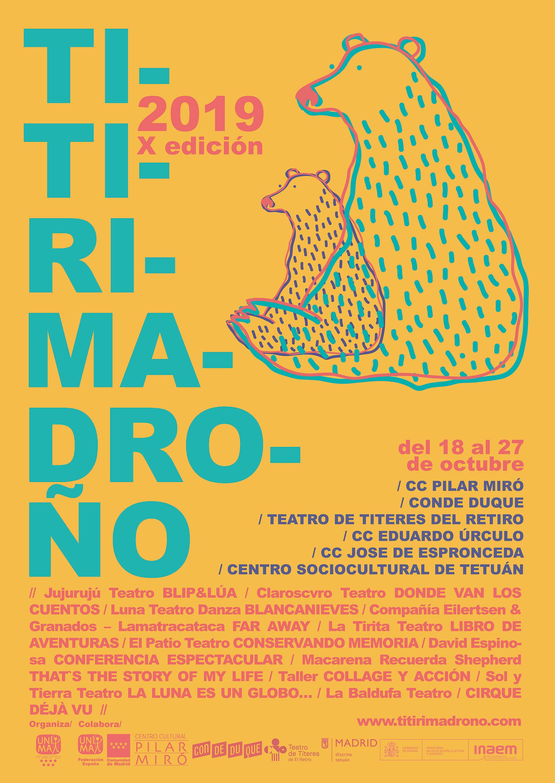 Titirimadroño 2019 Vallecas