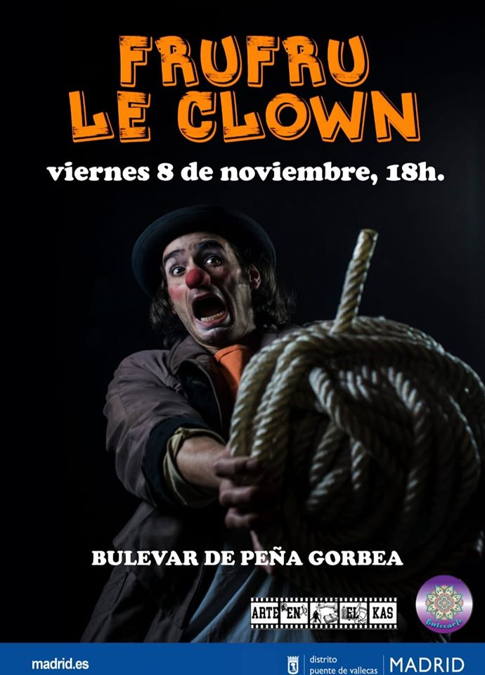Frufru le clown buñevarte Vallecas