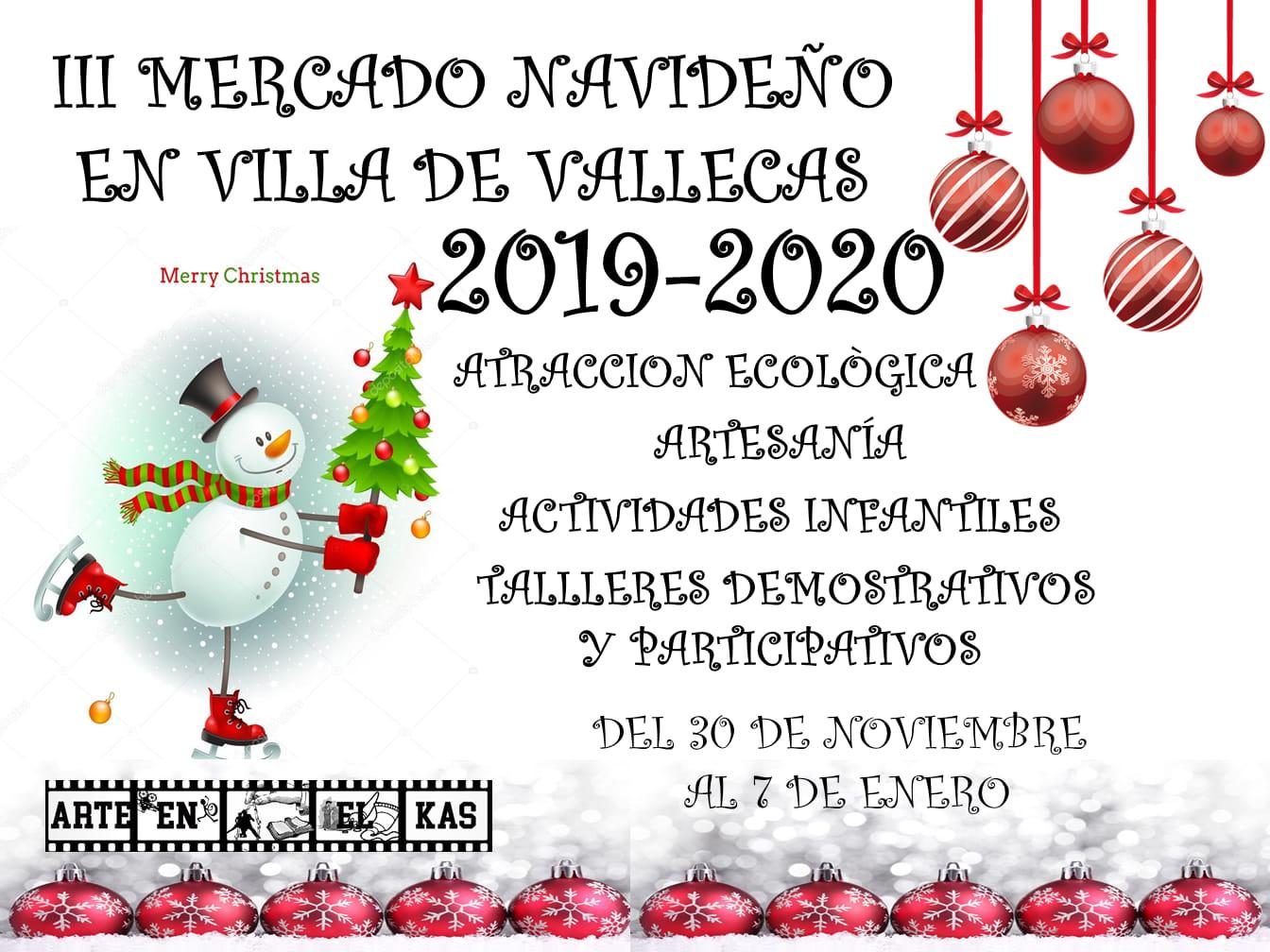 Mercado Navideño Villa de Vallecas 2019