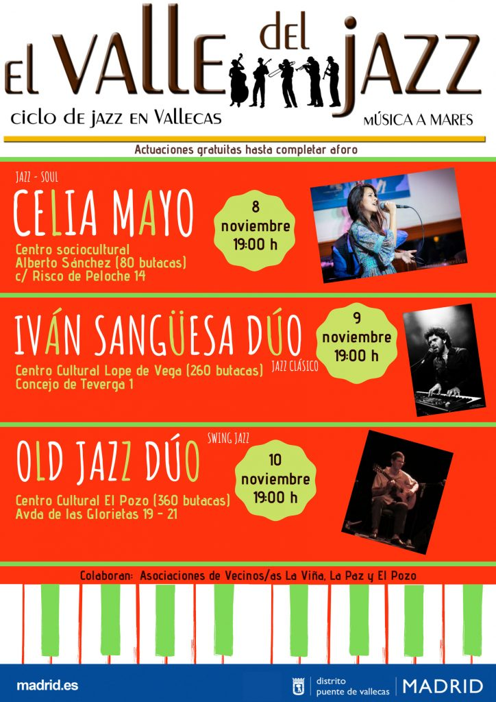 EL VALLE DEL JAZZ 2019 Vallecas