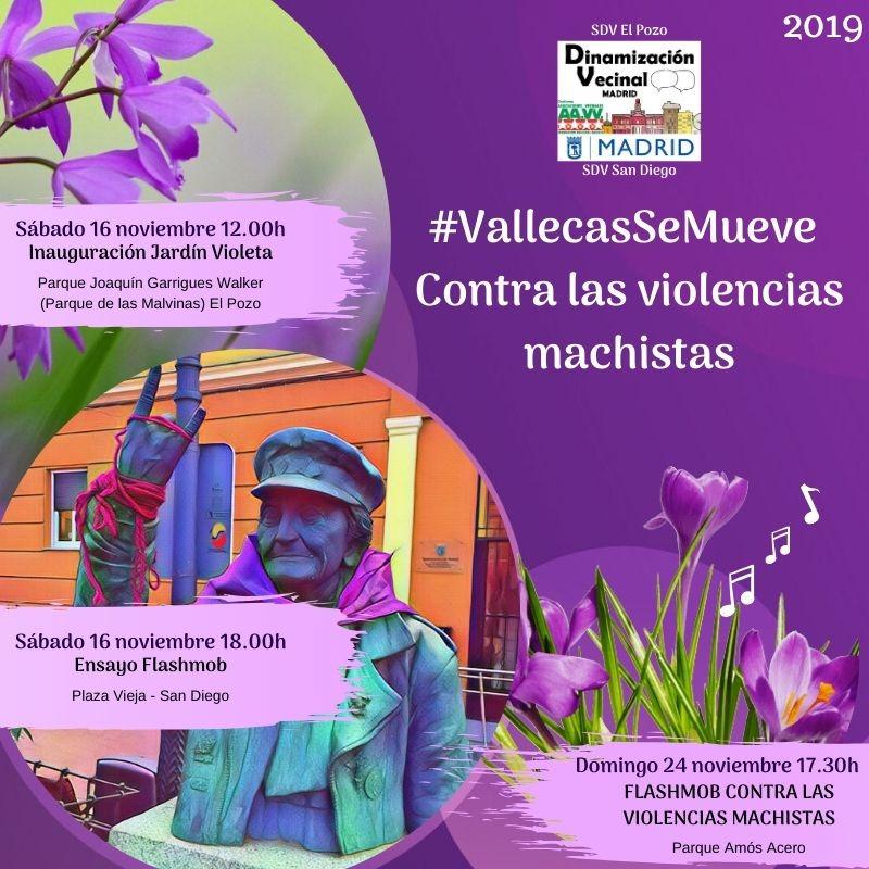 Vallecas se mueve contra las violencias machistas