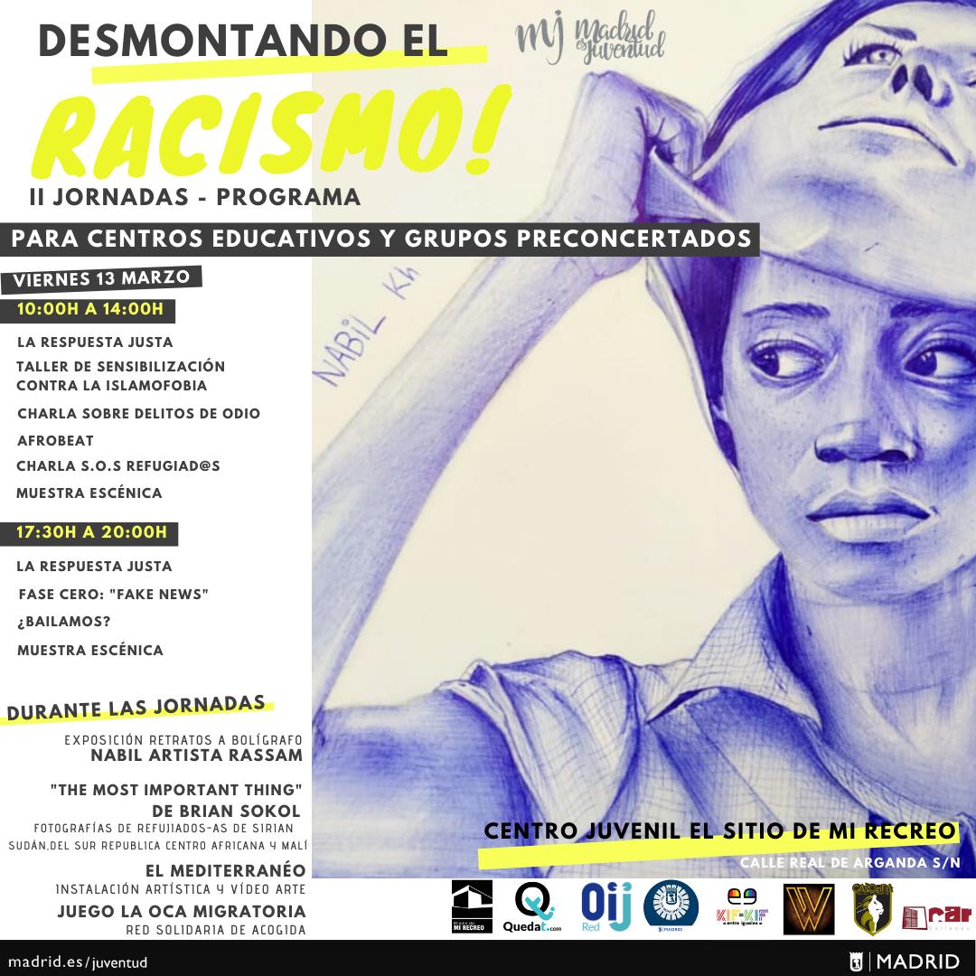 PROGRAMA DESMONTANDO EL RACISMO_AYTO DE MADRID vALLECAS