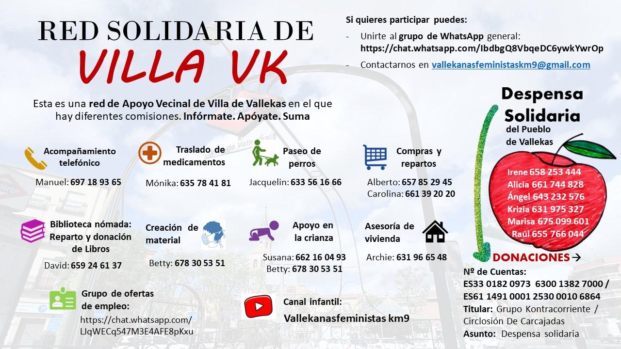 Red Cuidados Villa Vallecas