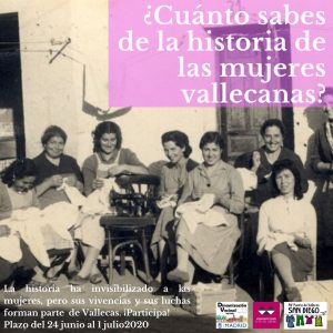 ¿Conoces la historia de las mujeres vallecanas?