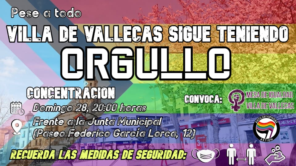 Orgullo Villa de Vallecas 2020
