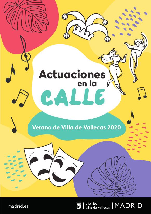 Actuaciones-Verano Villa Vallecas 2020