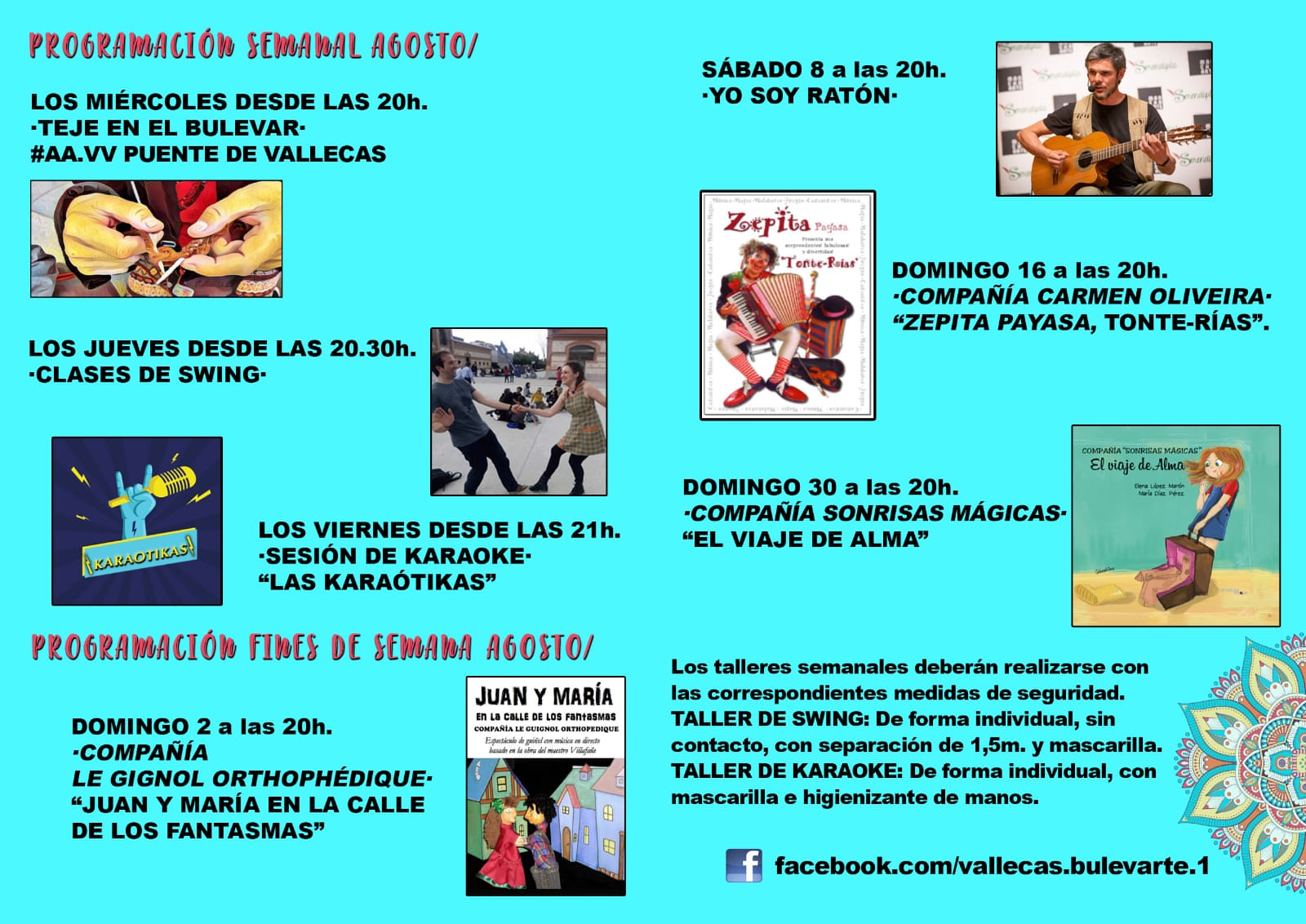 Bulevarte Agosto 2020 Vallecas