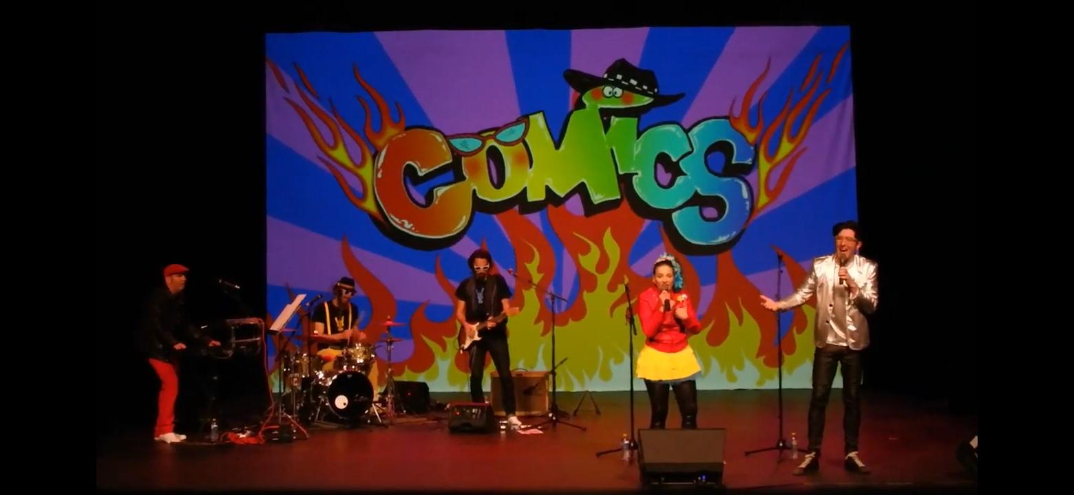 grupo-comics vallecas concierto verano