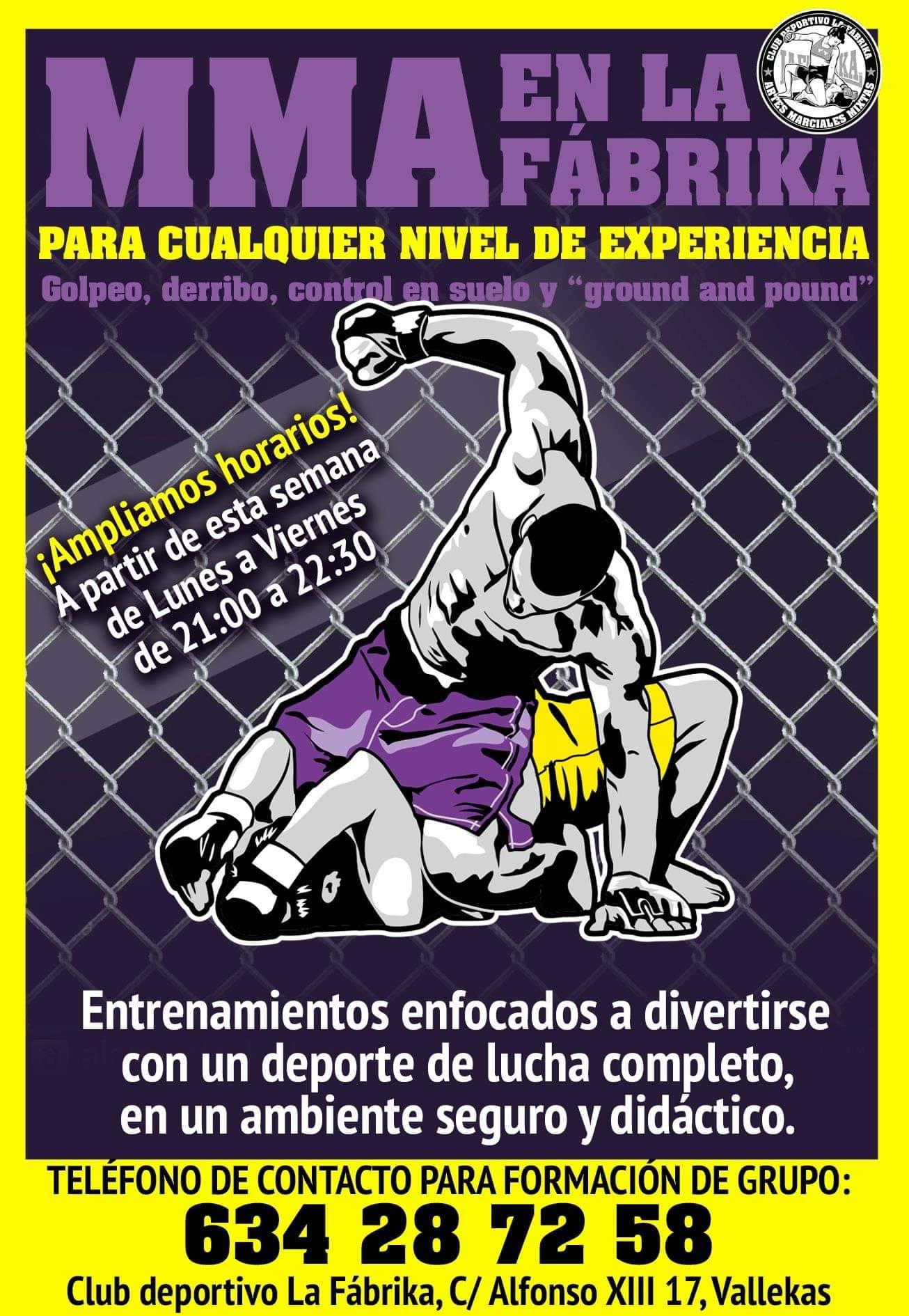 MMA Escuela de boxeo La Fabrika Vallecas