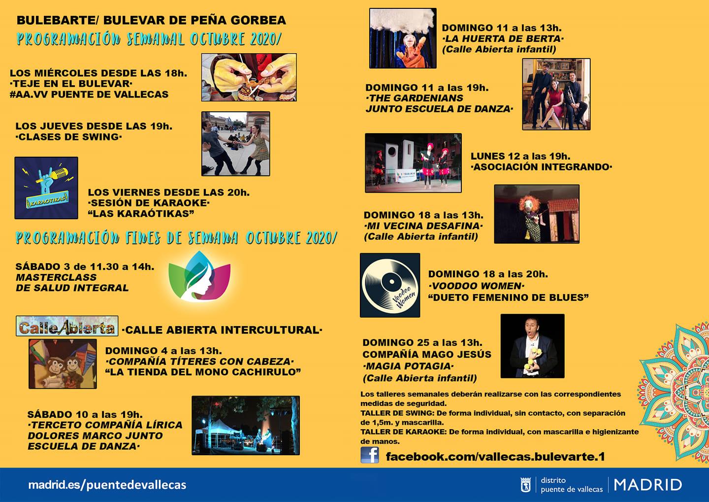 Bulevarte Octubre 2020 Vallecas