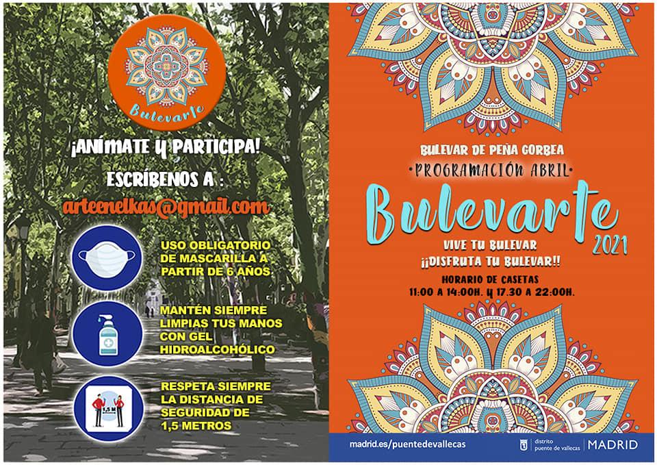 Vallecas Bulevarte Abril 2021