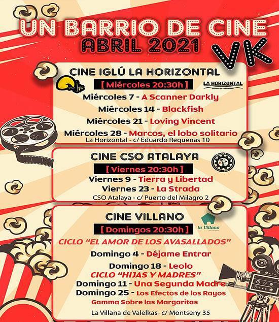 un barrio de cine Vallecas