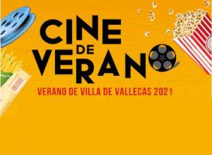 Cine de Verano 2021 (Villa de  Vallecas)