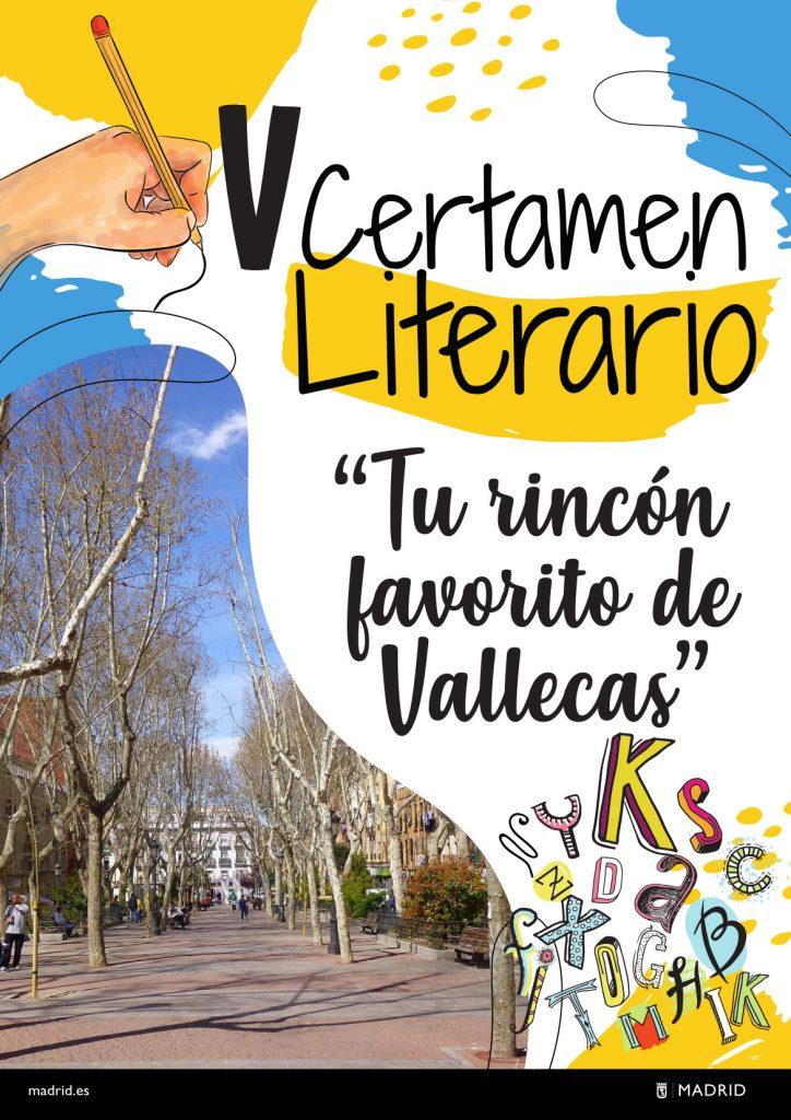 V Certamen literario 'Tu rincón favorito en Vallecas'