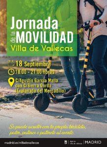 Movilidad sostenible en Villa de Vallecas