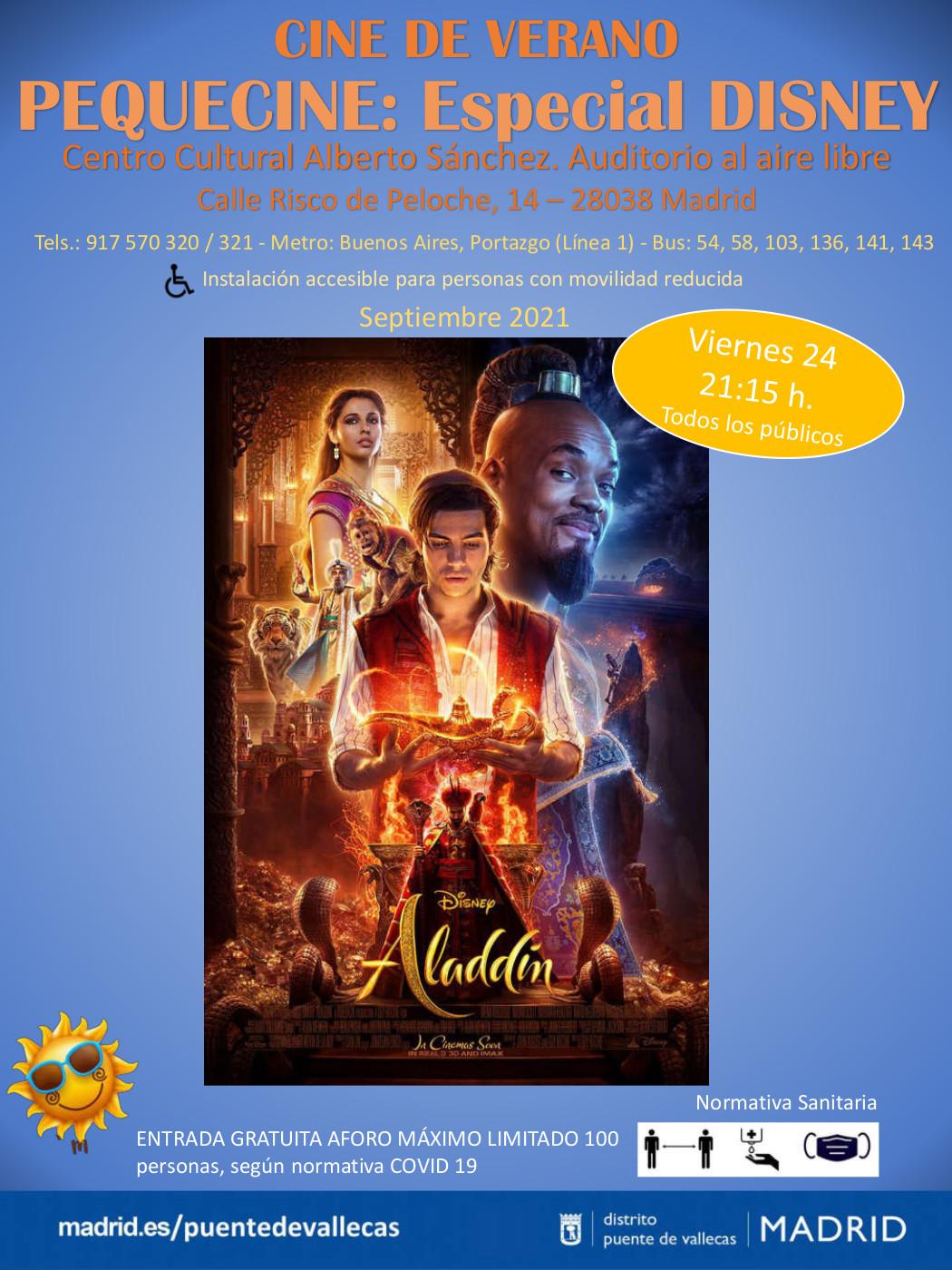aladdin cine vallecas