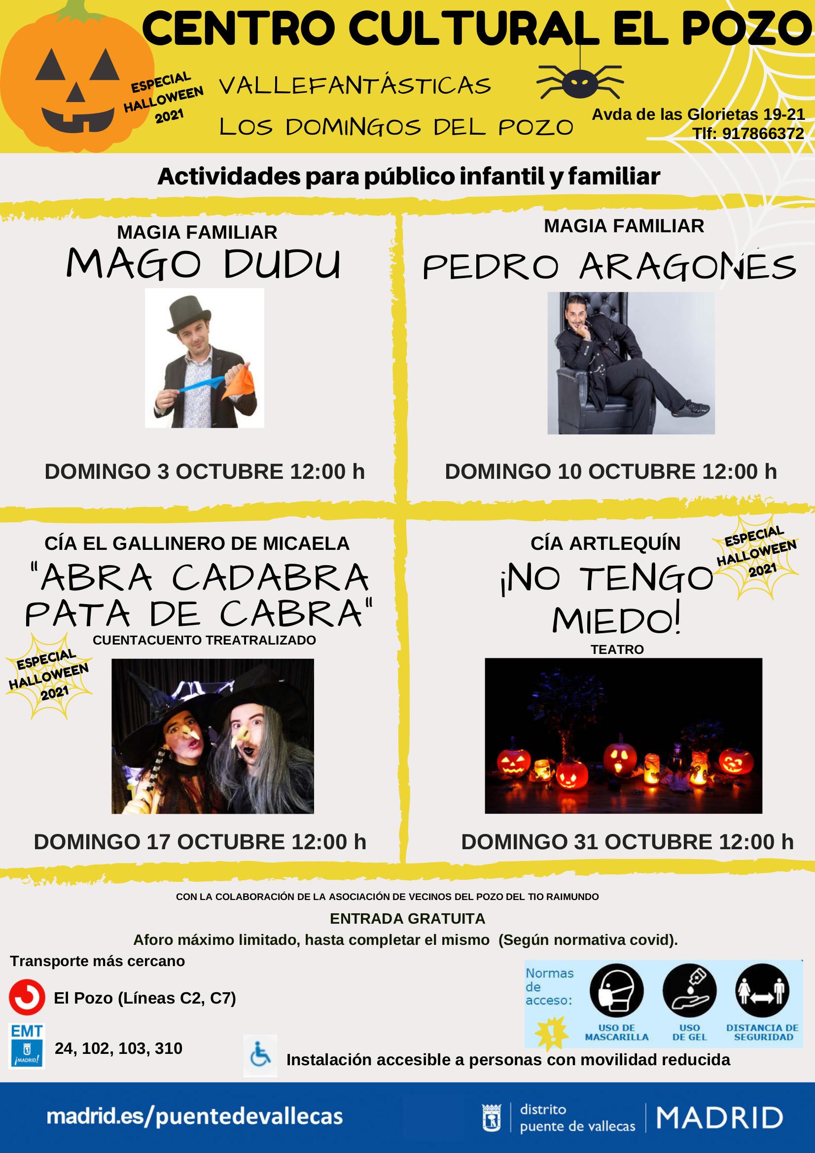 vallefantasticas octubre halloween Vallecas