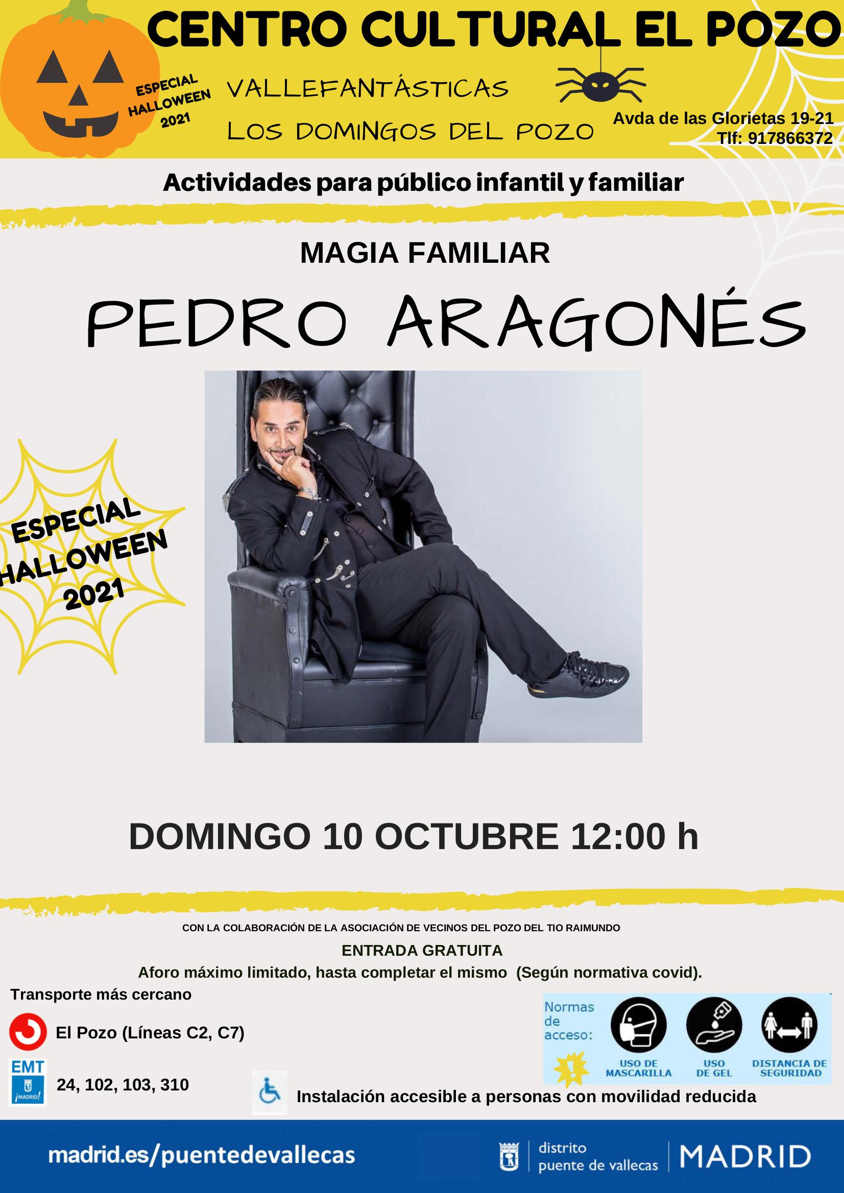 Pedro Aragones especial Halloween Vallecas